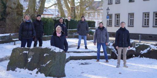 Licher Freidemokraten am Hessentagsbrunnen
